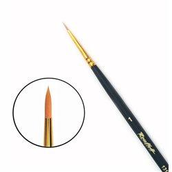 Кисть синтетика круглая №1 удл.ручка Roubloff 1317