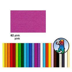 Картон цветной 70*100 Розовый / 300 гр/м