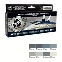 Набор Model Air - US NAVY & USMC COLORS (8цв.)