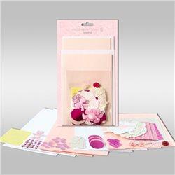 """Набор для изготовления открыток. """"Бледно-розовый"""""""
