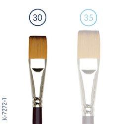 Синтетика плоская №30 (длинная ручка)