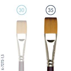 Синтетика плоская N35 (длинная ручка)