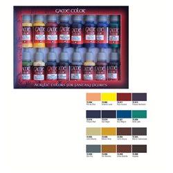 Набор Game Color 16 цв./ Современные цвета