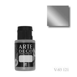 Серебро 121 ArteDeco, акриловая декоративная краска