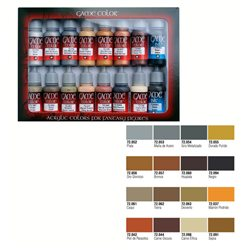 Набор Game Color 16 цв./ Кожа и металл