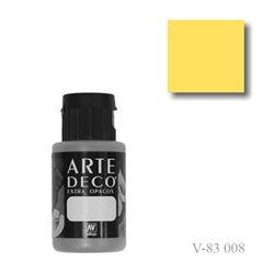 Желтый 008 ArteDeco, акриловая декоративная краска