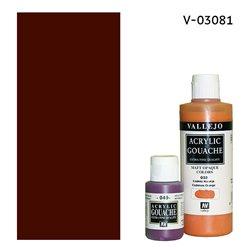 Гуашь-темпера/Марс коричневый