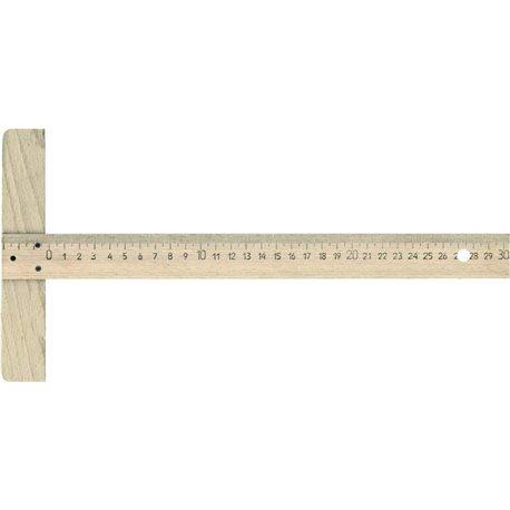 Рейсшина деревянная РДО- 300 мм