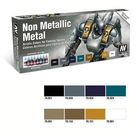 Набор Game Color 8 цв./ Металлические Эффекты