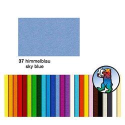 Картон цветной 70*100 Небесный голубой / 300 гр/м