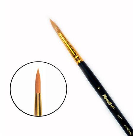 Кисть синтетика круглая №6 удл.ручка Roubloff 1317