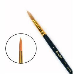 Кисть синтетика круглая №7 удл.ручка Roubloff 1317