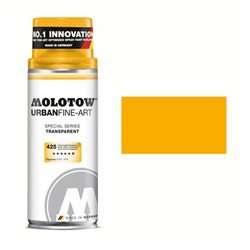 Краска FINE-ART SPRAY Желтый Транспарент 425, 400 мл