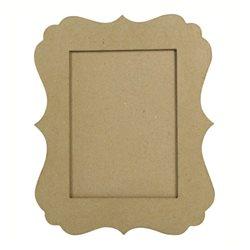 Рамка фигурная / папье-маше / 17х22,5 см