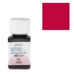 """Краски по стеклу """"Esprimo-Vetro Color"""" №465 -кармин/50мл"""