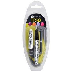 Набор- ручка с пером Italic (1.1 мм) + 2 картриджа, в ассортименте