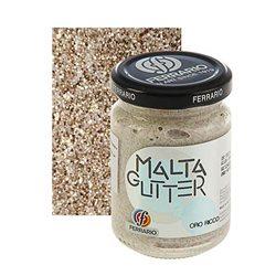 "Паста с блёстками Ferrario ""Malta Glitter"" №13-богатое золото/б.150мл"