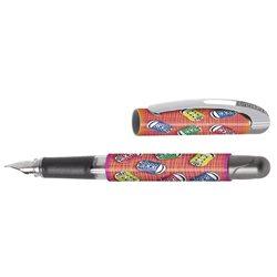 Перьевая ручка College/ перо М, Sport Friends, для девочек