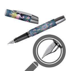 Перьевая ручка Campus II Джинсовый фламинго, перо М, для девочек