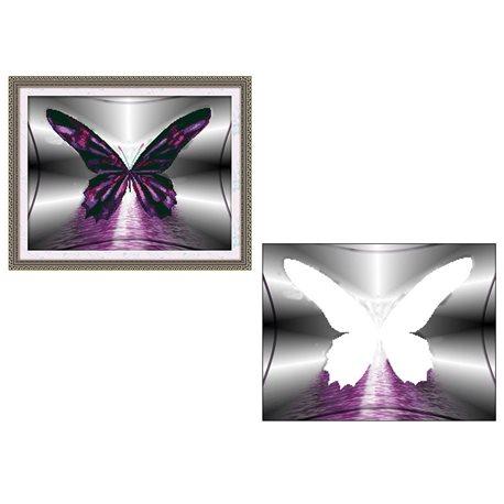 Бабочка - мозаичная картина