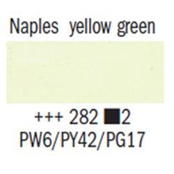 Краска масляная Rembrandt туба 40мл №282 Желто-зеленый неаполитанский