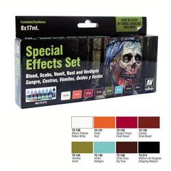 Набор Game Color Специальные эффекты / 8х17мл.