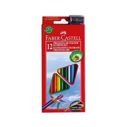 Набор цветных карандашей 12 цв ECO с точилкой в картонной коробке,