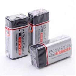 Ластик Dust-Free Faber-Castell для графит.карандашей однородный черный