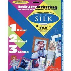 Комплект листов для печати на ткани /шелк/ 10листов