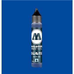 Чернила Molotow Aqua Ink 011 Синий основной, 30 мл