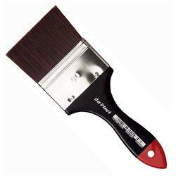 Кисть флейц Da Vinci 5040 COSMOTOP/красно-коричневая экстра жесткая синтетика/№60