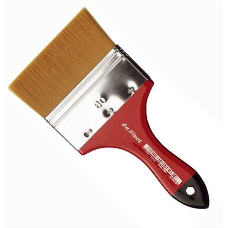 Кисть флейц Da Vinci 5080 COSMOTOP/золотистая синтетика/экстра мягкая/№80