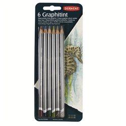 Аква-графитные карандаши Graphitint 6шт/ блистер