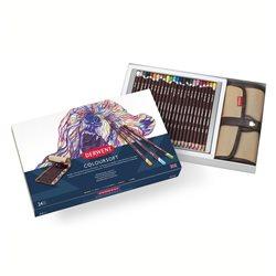 Н-р цветных карандашей Coloursoft Premier Set / 24цв.+ свиток