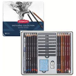 "Набор ""Sketching Collection"" /24 шт. в мет. кор."