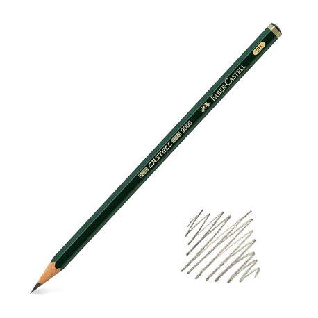 Карандаш графитный Castell 9000 2Н