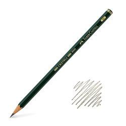 Карандаш графитный Castell 9000 3Н