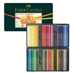 Набор цветн.карандашей Polychromos Faber Castell 60 цв.в метал.кор.