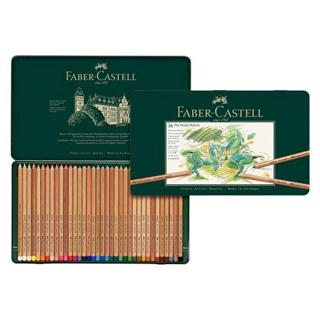Набор пастельных карандашей PITT Pastel 36 цв в метал. коробке