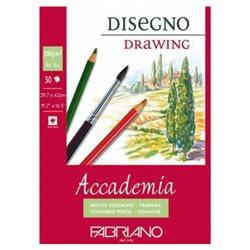 """Склейка д/графики """"Accademia Disegno"""" 29,7х42см 30л 200г"""