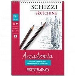 """Альбом д/графики """"SCHIZZI Accademia"""" 14,8х21см 50л 120г/спираль"""