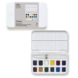 Набор акварельных красок Cotman 12 цветов+кисточка