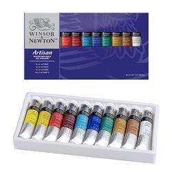 Набор водорастворимых масляных красок Artisan, тюбики 10х21мл, в картонной коробке