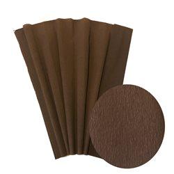 Бумага крепированная. 30 г/м2 , 200х50 см /Шоколад