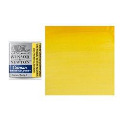 Акварель Cotman в маленьких кюветах, оттенок светло-желтый кадмий