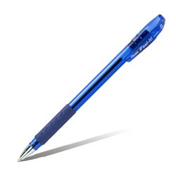 Шарик. ручка Feel it!, металлич. наконечник, 3-х гранная зона захвата,синий стержень,0.5мм