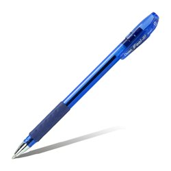 Шарик. ручка Feel it!, металлич. наконечник, 3-х гранная зона захвата,синий стержень, 0.7мм