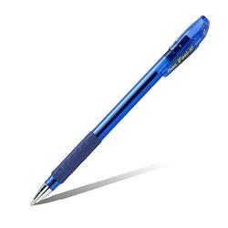 Шарик. ручка Feel it!, металлич. наконечник, 3-х гранная зона захвата,синий стержень, 1.0мм