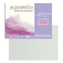 Склейка для акварели Artistico 23х30,5 см, 300 г, 20л./ горяч.прессования