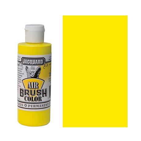 Краска Jacquard Airbrush Color желтый флюоресцентный 118мл